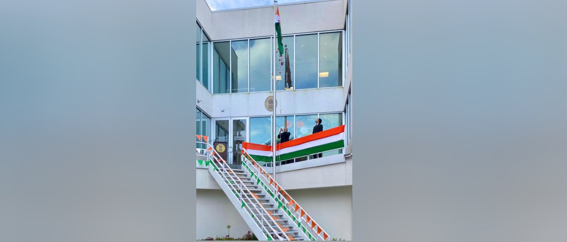 Celebration of 74th Independence day of India, at the Consulate