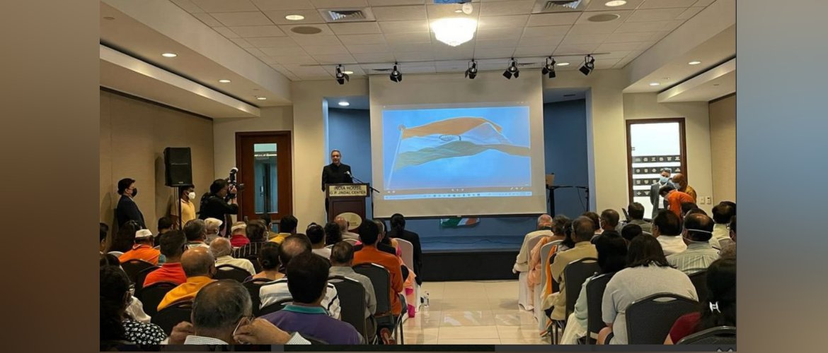 Consul General participated in the Celebration of the 75th Independence Day of India at India House, Houston on 15 August 2021