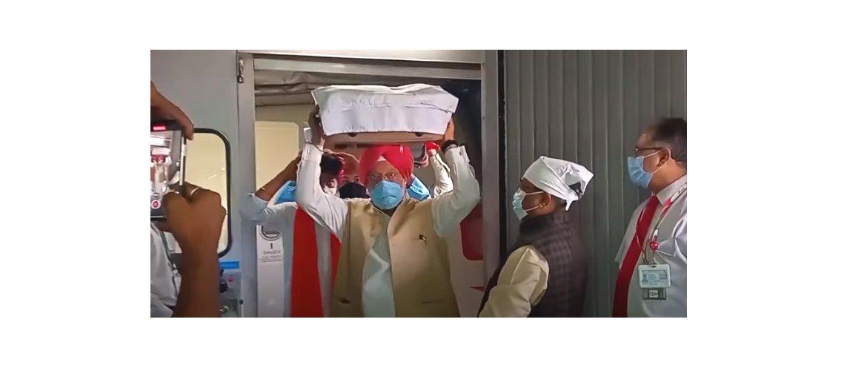 "<span><a href=""https://www.cgihouston.gov.in/listview/MjQ5"">Indian Officials receive the three Swaroops of Shri Guru Granth Sahib from Kabul.</a></span>"