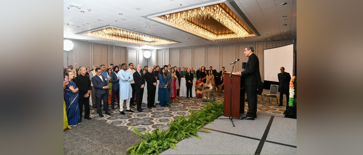 Consul General interacted with Indo-American community at Republic Day Reception