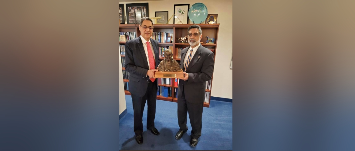 Consul General  interacted with President of University of Texas Arlington