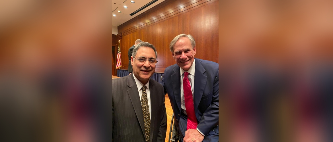 Consul General interacted with Governor Abbott
