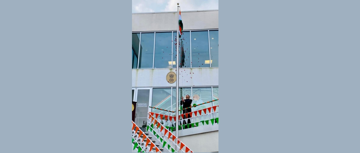 Celebration of 72nd Republic day of India, at the Consulate