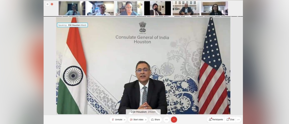 """Consulate General of India organized a webinar """"India- US Partnership: Opportunities for Collaboration in Medical Devices"""" along with other partners on April 27, 2021"""